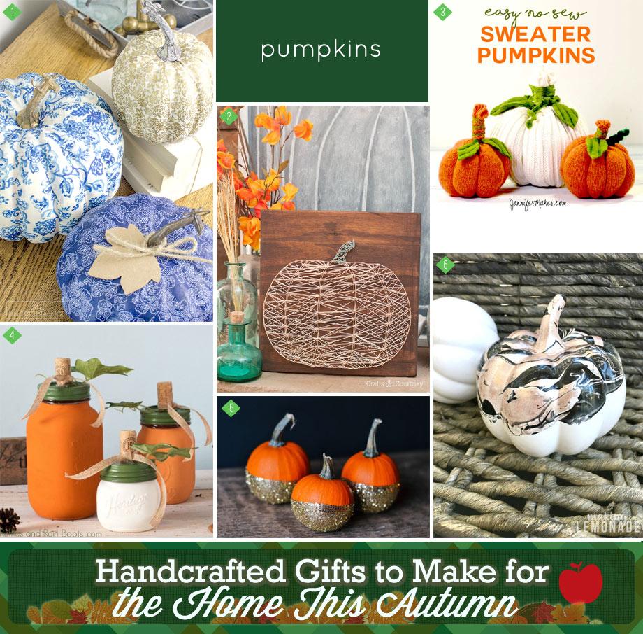 pumpkin inspired gifts