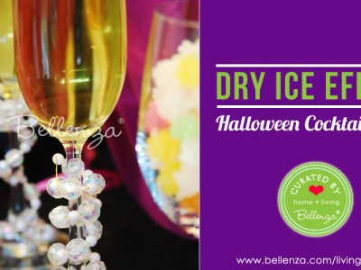 Dry ice Halloween Cocktails