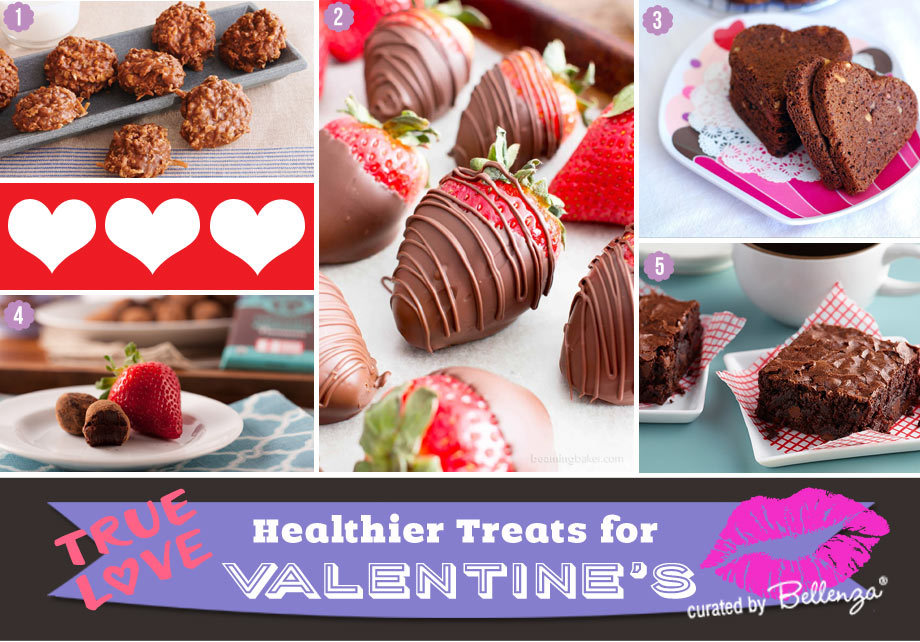 Valentines treats made with less refined sugars and more natural ingredients