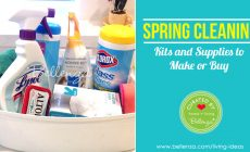 Spring Cleaning Kits - DIY Gifts to Make or Buy