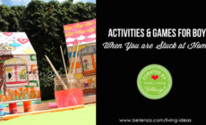 Fun activities and games for indoors or outdoors