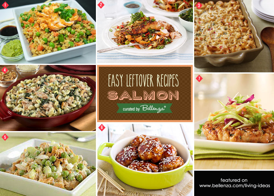 Easy salmon recipes to use as leftovers
