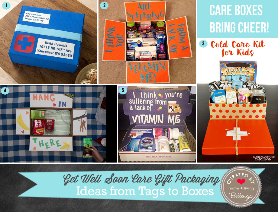 DIY Boxed Care Packages Wrapping Ideas