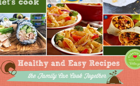 Family-friendly recipes that the kids can cook together