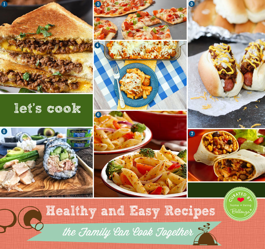 Healthy and Easy Recipes the Family Can Cook Together
