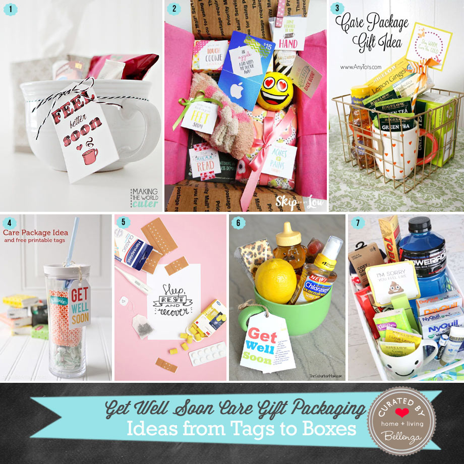 Get Well Soon Care Package Ideas with Free Printables