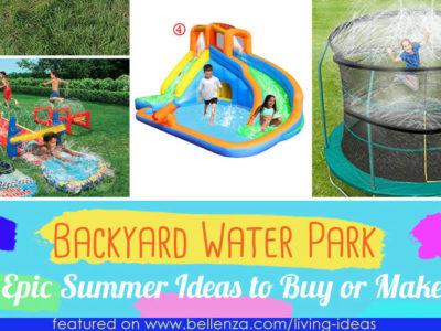 Backyard Water Park Ideas