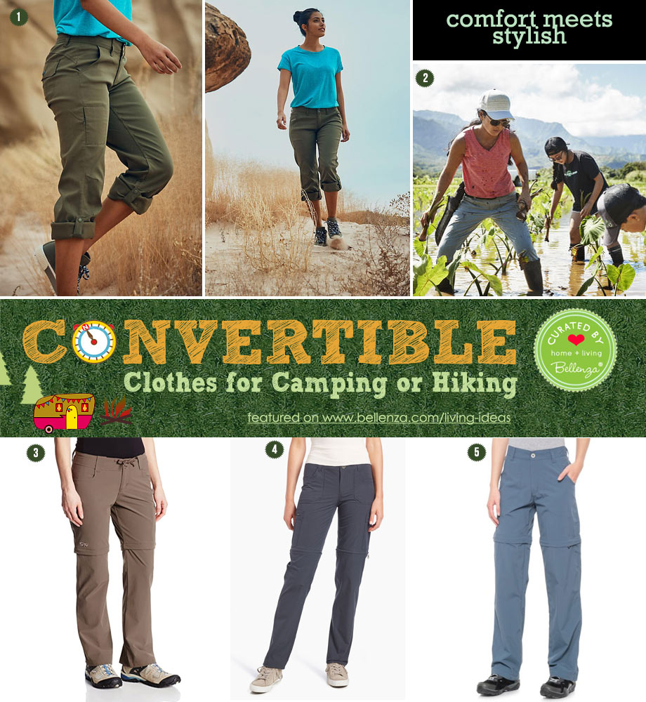 Comfy, Convertible Pants for the Outdoors