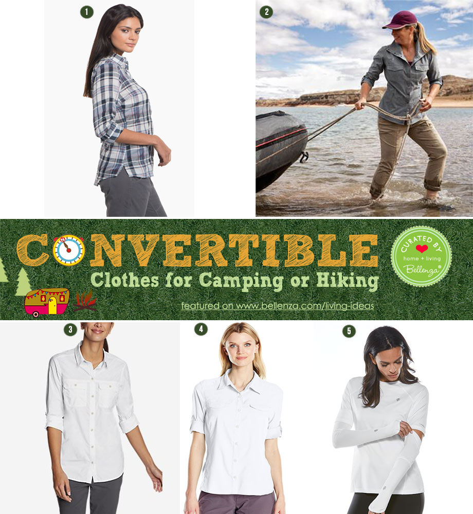 Comfy, Convertible Shirtsfor the Outdoors