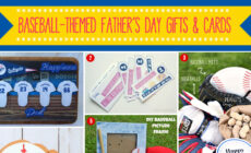 Baseball-themed Father's Day Gifts and Cards to Make for Dad