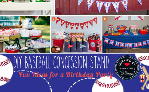 DIY Baseball Concession Stand
