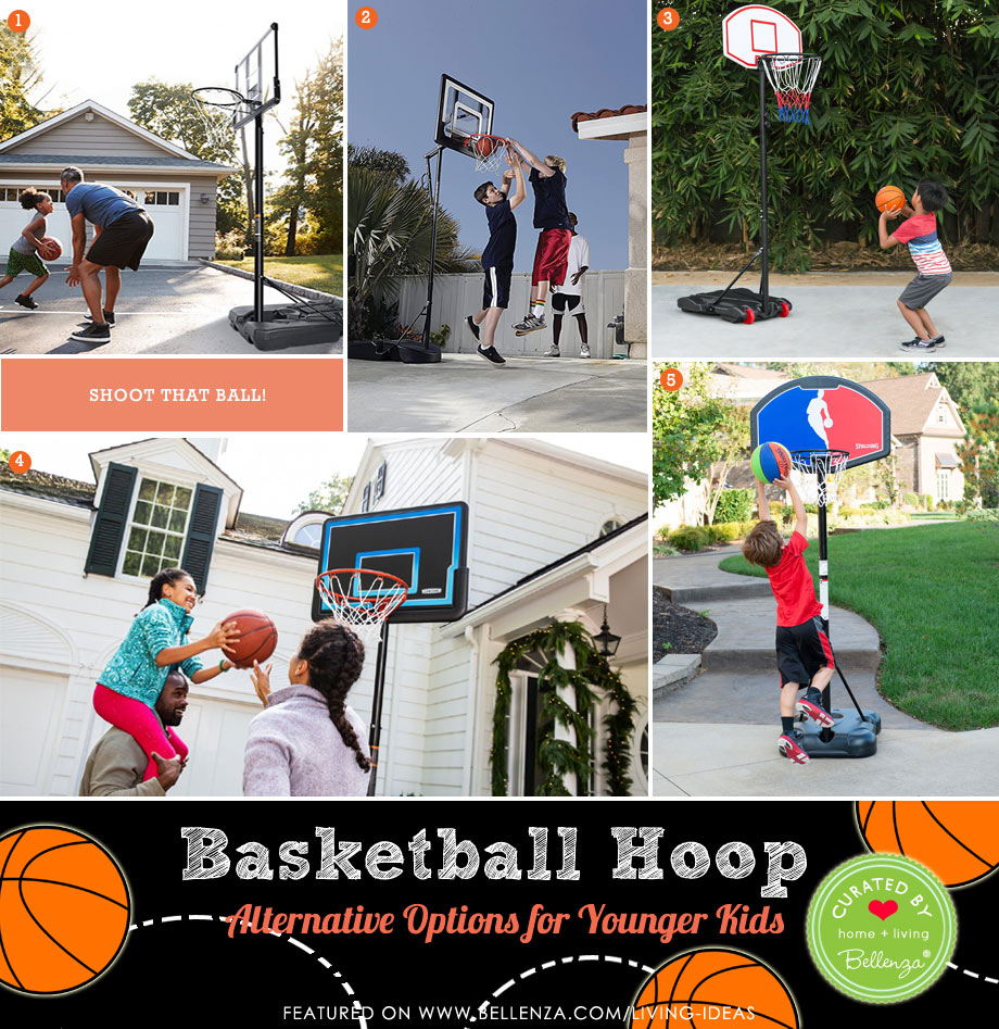 Alternative Basketball Hoops for Younger Kids