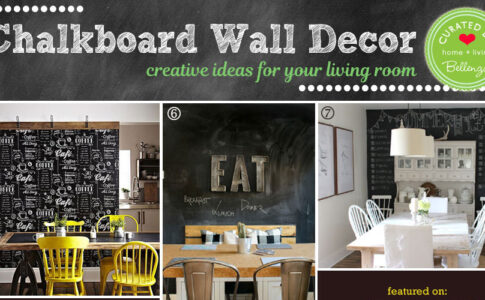 Chalkboard Ideas for Dining Room and Kitchens
