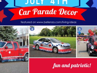 July 4th Car Parade Decorating Ideas