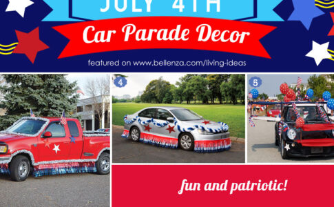 July 4th Car Parade Decorating Ideas