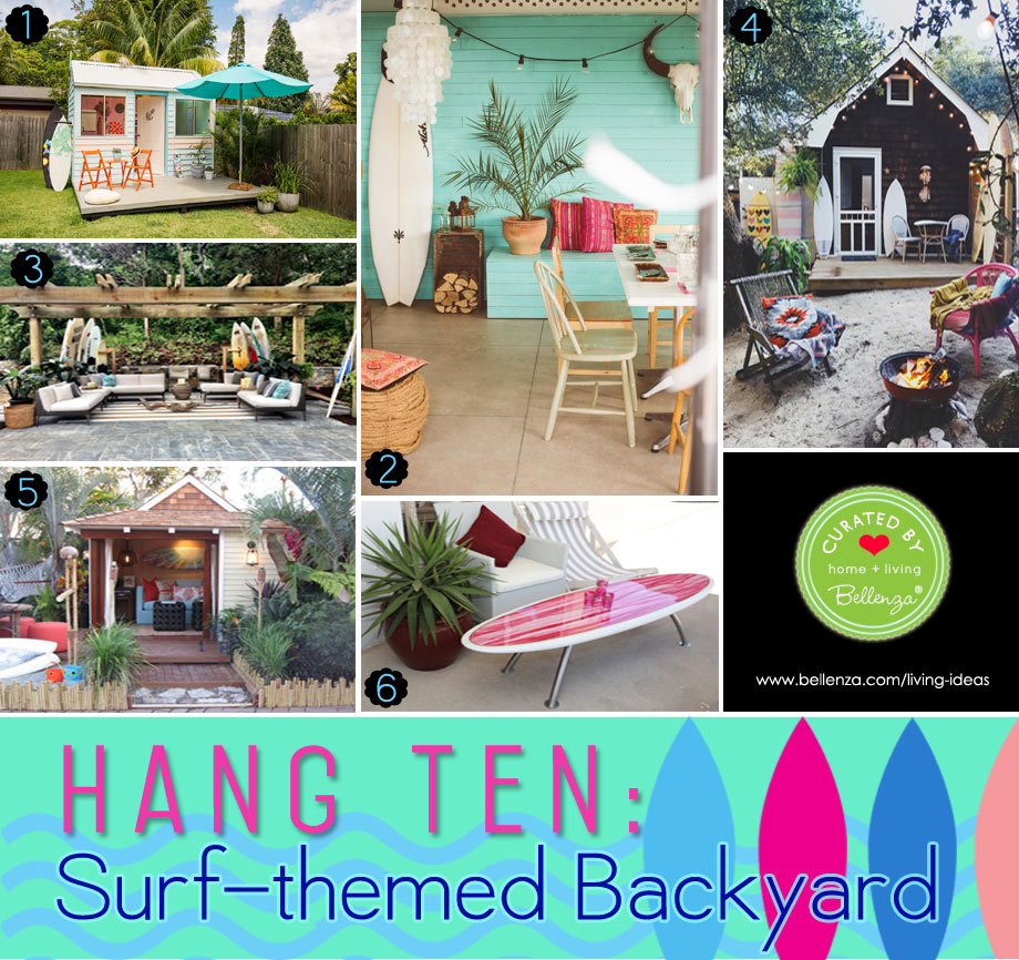 Surf-themed Decorations for Your Backyard