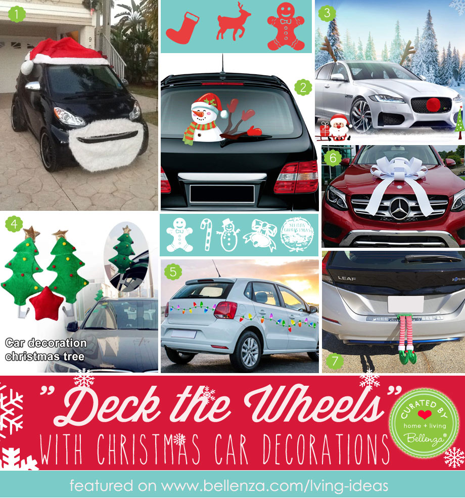 Christmas Decorations for Your Car