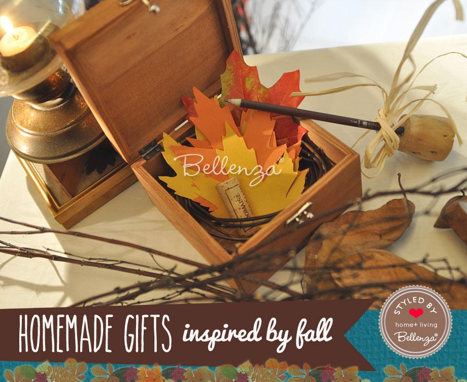 2 - Autumn Leaf Note/Memo Cards