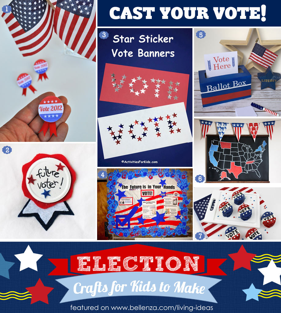 Cast Your Vote with Election Crafts for Kids