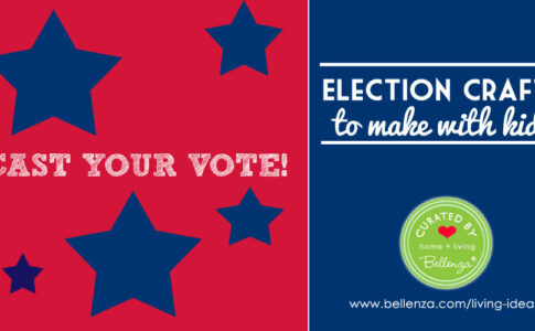 Election Crafts to Make with Kids - Get Your Votes Out!