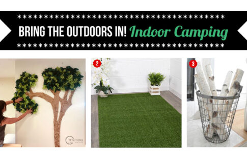Indoor camping how-to