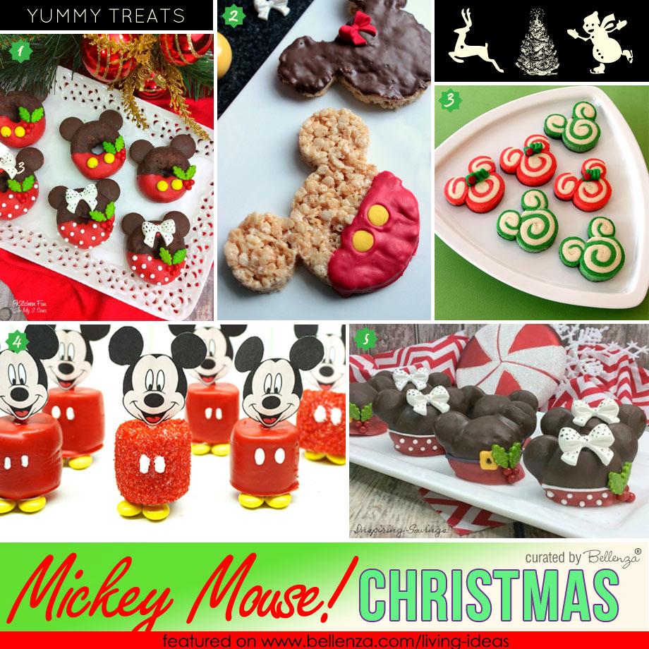 Easy Mickey Mouse Holiday Treats
