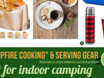 Indoor Camping Cooking Essentials