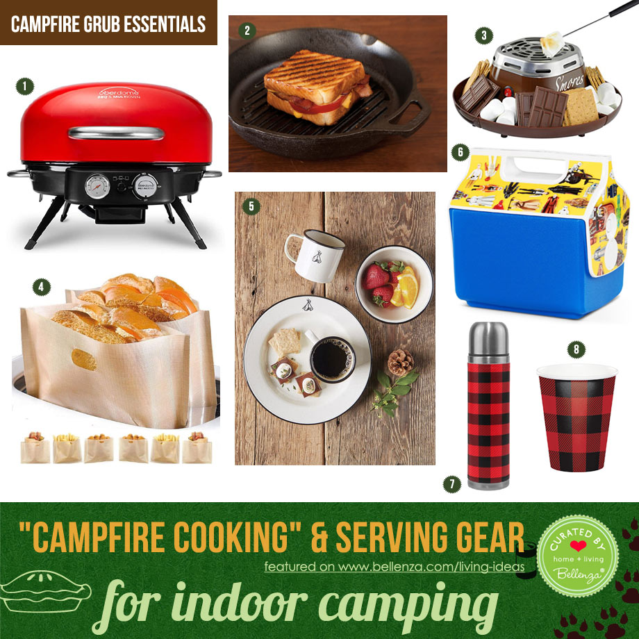Pretend Camping Meals