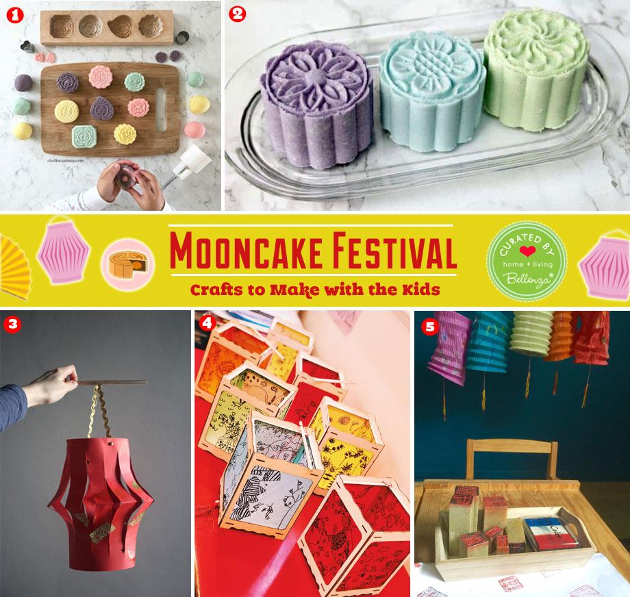 Mid-autumn festival crafts for the mooncake season