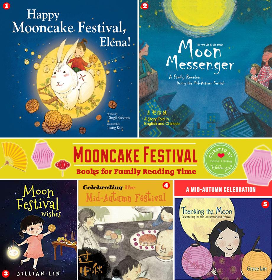 Books on the Mooncake Festival