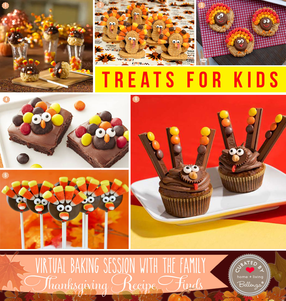 Turkey Treats for a Virtual Thanksgiving Bakeoff