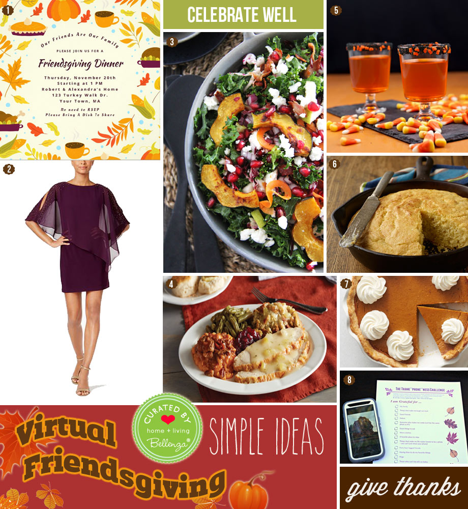Planning a Virtual Friendsgiving with Easy Ideas