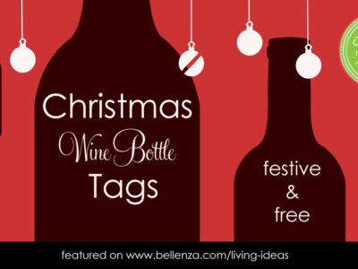 Christmas Wine Bottle Gift Tags
