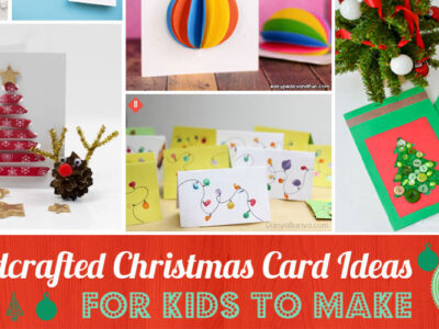 Handcrafted Christmas Card Ideas for Kids to Adults to Make
