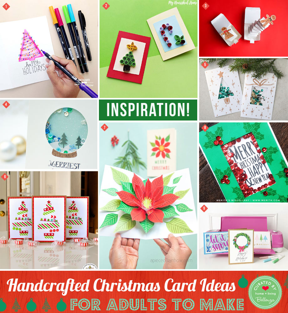 Christmas cards for adults to make at home