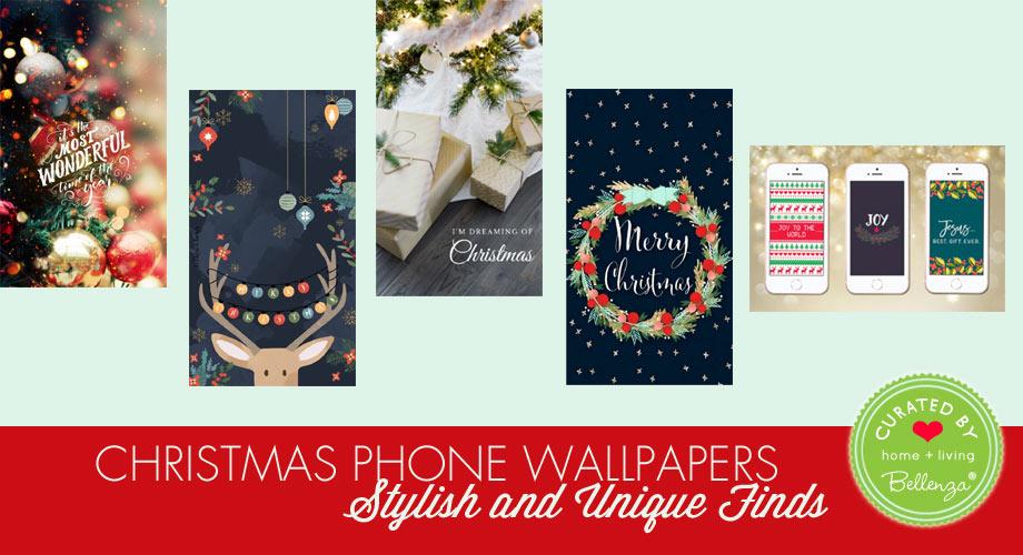 2020 Christmas phone wallpaper