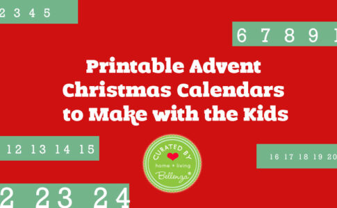 Printable Advent Christmas Calendars to Make with the Kids