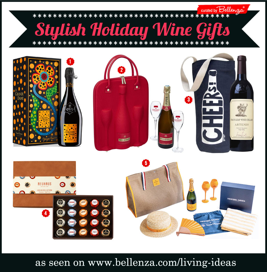 Stylish Wine Gifts to Give the Sophisticated Hostess for Christmas