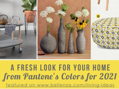Pantone®'s 2021 palette of grey and yellow