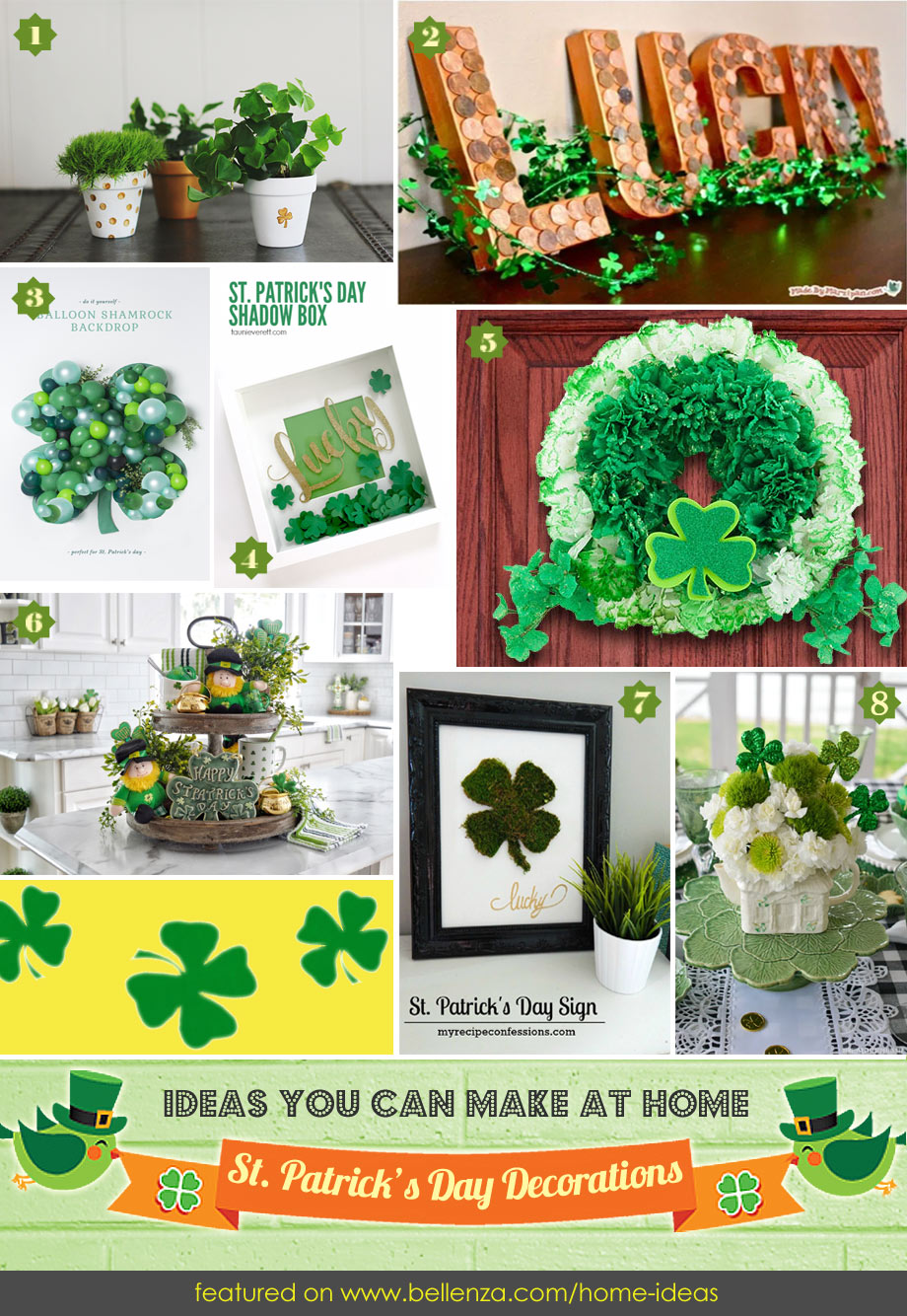 St. Patricks' Day Decorations for the Home