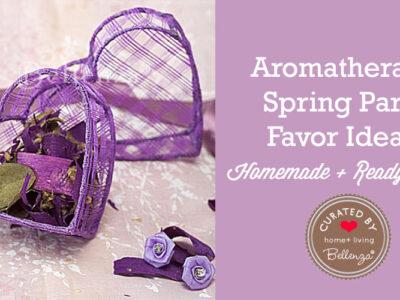 Aromatherapy Spring Favor Ideas