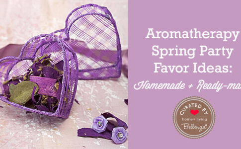 Aromatherapy Spring Favor Ideas