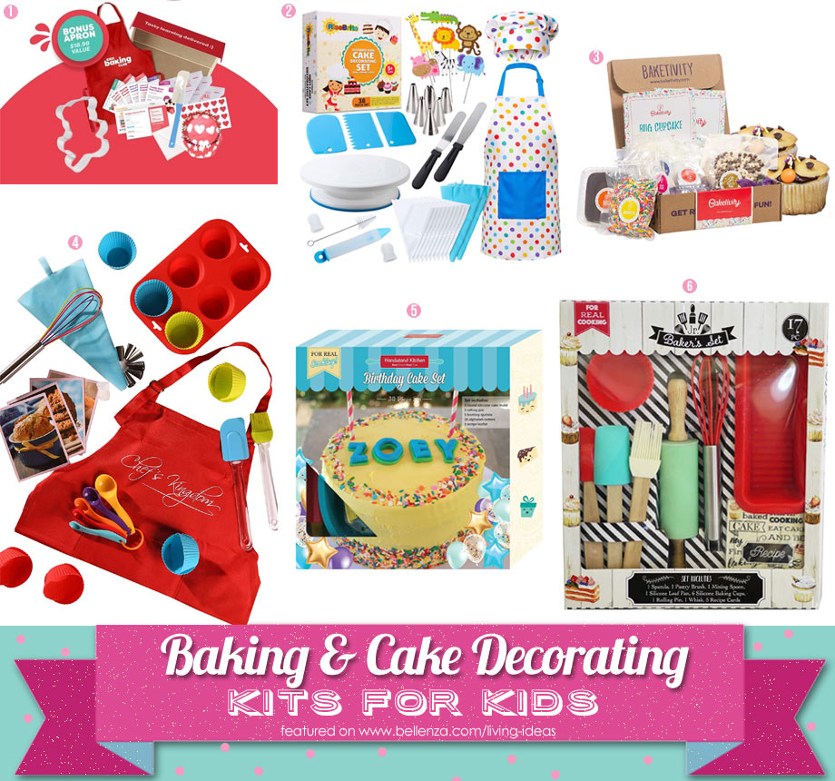 At-Home Fun with Cake Decorating Kits for Kids