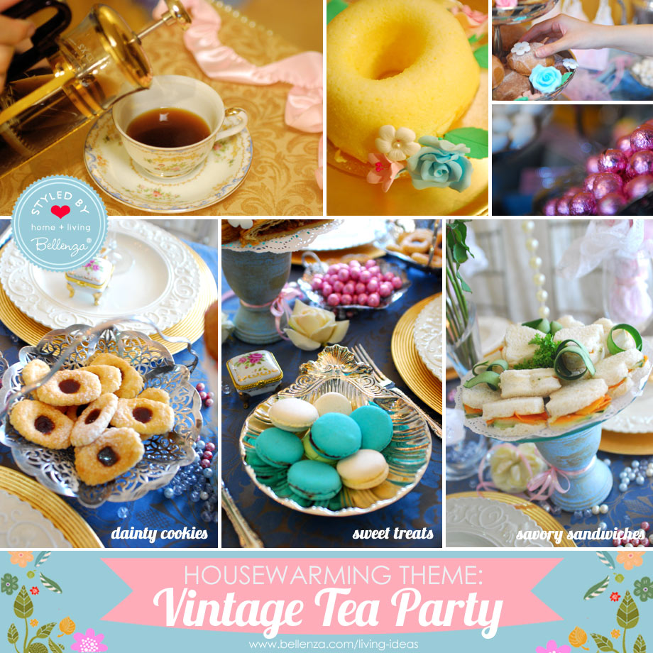 Housewarming tea party ideas