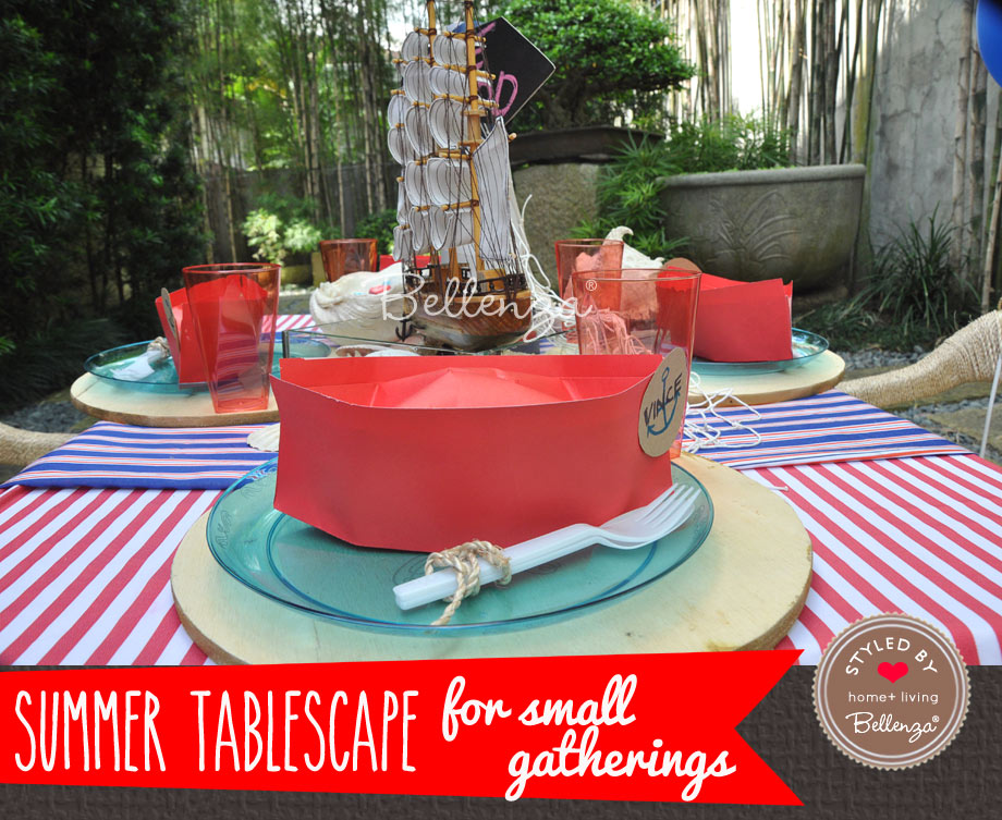 Nautical Birthday Party for small party