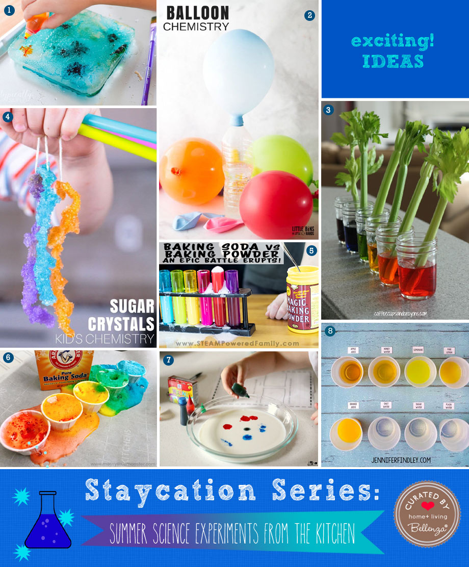 8 Simple Science Experiments for Kids