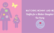 Matching Mommy and Me Outfits for a Mother-Daughter Tea Party