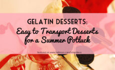 Easy Gelatin Desserts Recipes