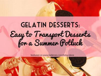 Easy Gelatin Desserts Recipes