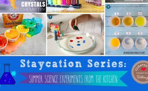 Summer Science Experiments Right From the Kitchen